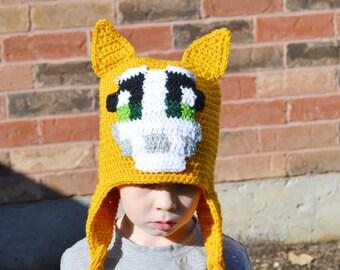 Stampy Hat, Stampy Longnose, Minecraft, Stampy Cat, Boys Stampy Hat, Girls Stampy Hat, Kids Stampy Hat, Teen Stampy Hat, Adult Stampy Hat
