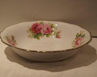 "Royal Albert American Beauty 9 1/2"" Round Vegetable Bowl"