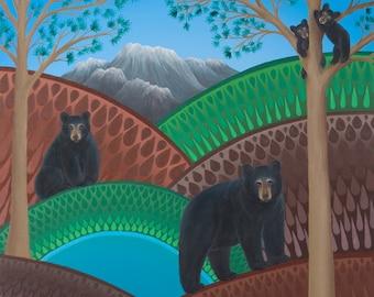 Colorado Bears fine art print