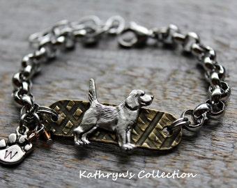 Beagle Bracelet, Beagle Jewelry, Beagle Gift, Beagle Mom, Gift for Dog lover, Dog Bracelet