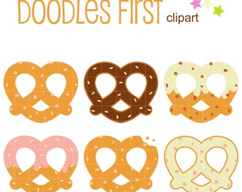Clip Art Pretzel Clip Art pretzel clipart etsy yummy pretzels digital clip art for scrapbooking card making cupcake toppers paper crafts