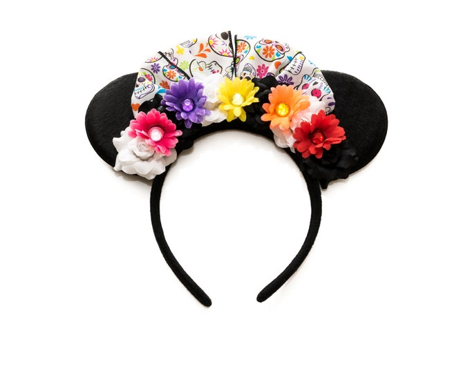 Day of the Dead Mouse Ears Headband