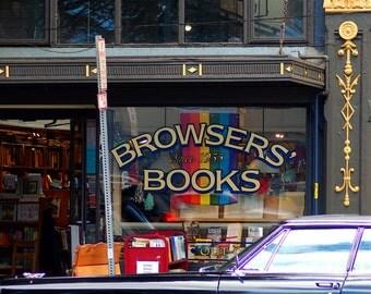 Browers Books, Urban Photography, Street Photography, City Photography, Urban Art