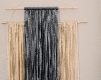 Modern Yarn Wall Hanging / Tapestry