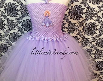 Princess Sofia The First Tutu Dress, Sofia The first tutu dress, Princess Tutu Dress, Sofia Halloween Costume, Sofia the First Costume