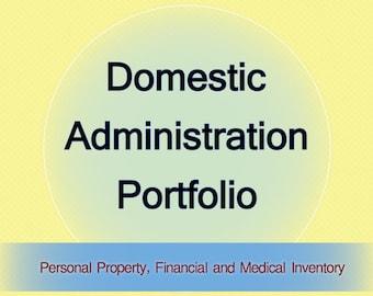 Domestic Administrator Portfolio - Excel Version