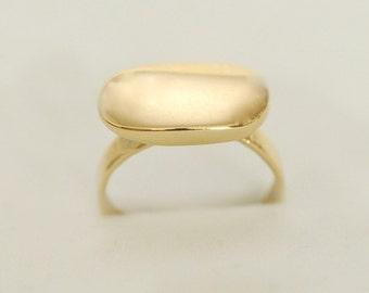Ring 14K yellow gold,