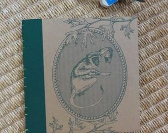 Handmade Upcycled Funky Monkey Journal