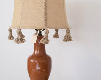 Moroccan Style Ginger Jar Table Lamp