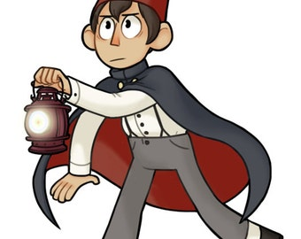 Over the Garden Wall Wirt Phone Charm