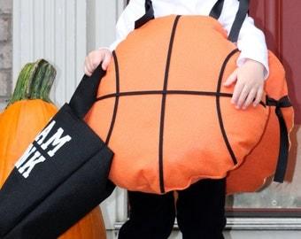 Toddler Halloween Costume Basketball w/ Slam Dunk treat bag Kids or Adults costume