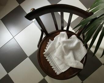 Crochet bath towel, housewarming gift idea, bathroom decor, gift for women, luxury towel, wedding gift ideas, bath gift set