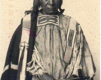 Red Cloud, Used Postcard, Photo  by Frank A. Rinehart, 1898. Card is from 1993, good shape