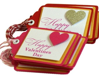Valentine's Gift/Favor Tags,12pcs