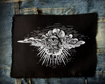 The Eye That Can See Everything Patch | Patches | Punk Patches