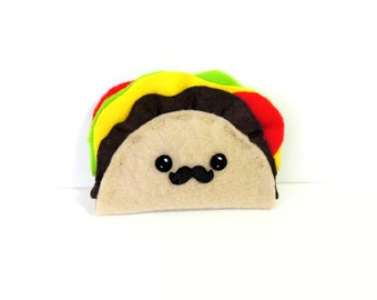 Felt Kawaii Taco Plush