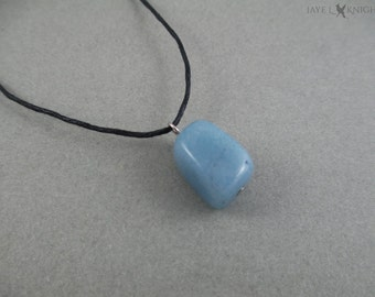 Angelite Bead Necklace - Ilyon Chronicles - Kyrin - William