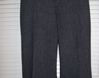 Vintage Eddie Bauer Tweed Women's Pants.  Yesteryear's high quality w style Size 14