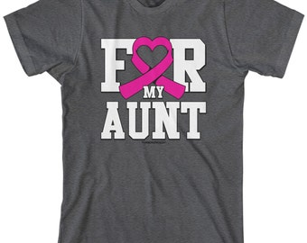 For My Aunt Breast Cancer Awareness Men's T-shirt