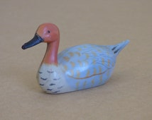 Duck Duck Goose Pencil Sharpener - Vintage Hard Plastic - Metal Sharpener in Good Condition - Works as Designed - Stocking Stuffer - Clean