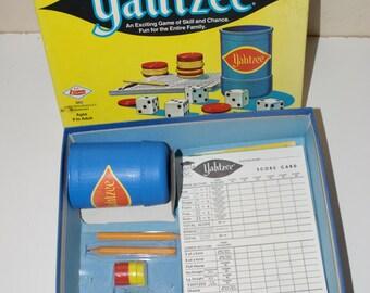 1973 Yahtzee Game
