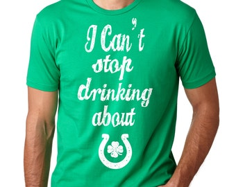 Saint Patrick's Day T-Shirt Irish Pub Tee Shirt Lucky Charm Shamrock Clover T-Shirt