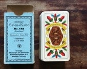 Antique Playing cards Salon - Karte 148 German Made Collectibles 1900s RARE Complete Deck of Cards