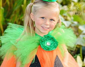 Pumpkin Stem Hat / Pumpkin Stem Head Piece / Pumpkin Hairclip / Pumpkin Headpiece / Pumpkin Headband