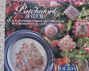 Cross Stitch & Crountry Crafts Magazines - Nov/Dec 1993