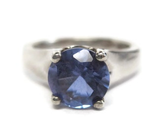 Color Change Zandrite Sterling Ring Size 6 Zandrite