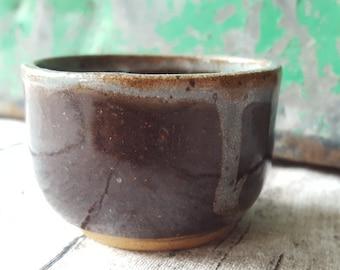 mini clay bowl