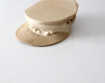 vintage Bancroft's Dame hat, army ridgeway hat