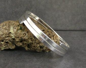 Silver cuff Bracelet, Sterling silver bracelet bangle, Silver Bangle, Silver bracelet, Heavy Bangle