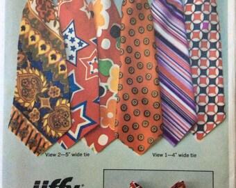 Simplicity 9400 UNCUT Men's Set of Jiffy Ties
