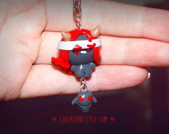 Lilith Keychain from the Binding of Isaac Afterbirth