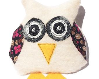 Owl Softie, Owl Soft Toy, Plush Owl, Toy Owl