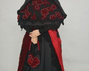 """Magda"" by Elena Fesler, art doll artist doll"