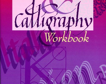 Lettering & Calligraphy Workbook from The Diagram Group | Craft Book