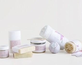Lavender Spa Gift Set, Bridesmaid gift set, SPA Gift basket, Bath and Body gift set, Gift basket, Bridesmaid gift, Bridesmaids Gift, Wedding