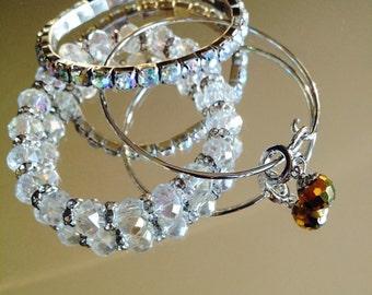 crystal bracelet bundle