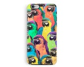 Parrot Phone Case Protective iPhone 6 case Protective Phone case iPhone 5s protective case Cute Bumper Phone Cases Wildlife Lover Gifts