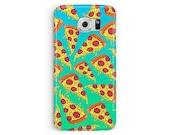 PIZZA Samsung Case, Pizza Phone Case, S5 Cover, Samsung Galaxy S5 Case, S5 case, Pizza Party, Gift idea, Simpsons cell case, boyfriend gift