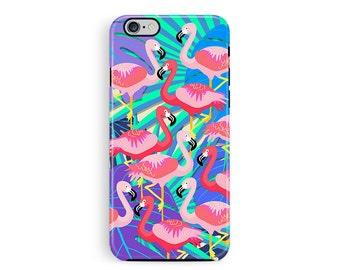 Flamingo Phone Case, Protective Phone case, iPhone 6 protective case, iPhone 5s protective case, Phone Cases, Wildlife Lover Gift, hard case