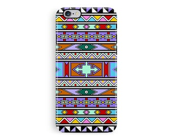Geometric iPhone 5 Case, Aztec Phone Case, Protective Phone Case, Protective iPhone 6 Case, African iPhone 5 protective case, bumper 5 case