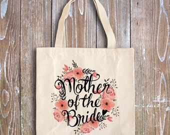 Bridal Shower Favors - Wedding Party Favors - Rehearsal Favors - Wedding Shower Favors - Wedding Favors - Mother of the bride tote bag