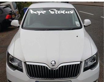 Windshield Decal Etsy - Custom vinyl decals for car windshield