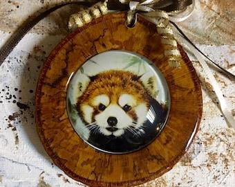 Red Panda ,Panda ,Ornament, Red Panda art, decoration