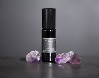 AMÉTHYSTE : Amber, White Sage, Jasmine, Rose de Mai, Pink Pepper // all natural and botanical perfume