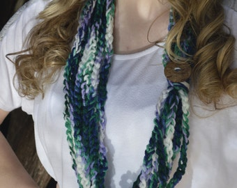 Chained Around Infinity Scarf