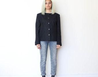 SALE***Black Wool Blazer